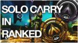 CARRYING VALORANT PLAYERS IN APEX RANKED