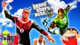 FRANKLIN THE HELL LANTERN DESTORY CITY I [Hindi] | GTA V GAMEPLAY [ PART 17 ] | Team4SHOOTER