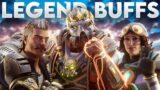 Fuse, Caustic & Horizon Buffs Apex Legends Season 10 Before & After