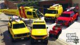 GTA 5 – Stealing Los Santos Lifeguard Vehicles With Franklin!   (GTA V Real Life Cars #75)
