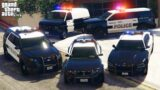 GTA 5 – Stealing Paleto Bay Police Department Vehicles With Franklin! | (GTA V Real Life Cars #81)