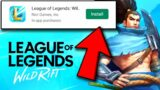 HOW TO DOWNLOAD LEAGUE OF LEGENDS: Wild Rift 2020 (LoL Mobile)