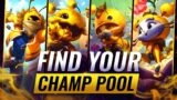 How To CLIMB With Your PERFECT Champion Pool – League of Legends Season 11