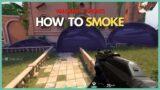 How to smoke the RIGHT WAY in Valorant (Valorant #shorts)
