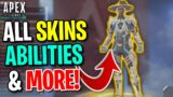NEW LEGEND SEER! ALL SKINS, ABILITIES AND MORE! – Apex Legends Season 10