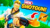 *NEW* Lever Action Shotgun in Fortnite! (OP?)