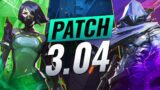 NEW UPDATE: OMEN FIX + SKIN PREVIEW + BUG FIXES & MORE! – Valorant Patch 3.04