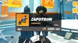 New ZAPOTRON WEAPON in the Fortnite UPDATE!