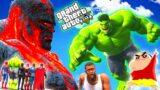 SHINCHAN & AVENGERS VS GIANT GOD TITAN [Hindi]   GTA V GAMEPLAY [ PART 6 ]   Team4SHOOTER