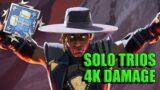 Seer 4K Damage Solo Trios | Apex Legends Season 10