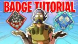 The EASIEST WAY To Get Your FIRST 20 KILL And 4k DAMAGE BADGES! Apex Legends Season 9 Guide & Tips