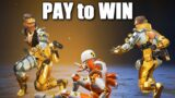 The PAY TO WIN Finisher in Apex Legends