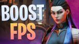 Valorant FPS Boost (BEST Settings For High FPS)