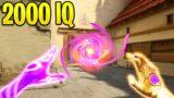 Valorant: Using 2000IQ Tricks to OUTPLAY Enemies!