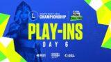 ESL Mobile Challenge presents Wild Rift SEA Championship 2021: Play-ins Day 6