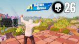 High Elimination Solo Squad Win Season 8 Gameplay Full Game (Fortnite PC Keyboard)