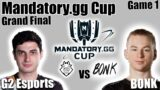 G2 vs BONK game 1 – Finals   Mandatory.GG Cup   Valorant Ignition Series