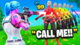 Hacking Fashion Shows With My Phone Number In My Name! (Fortnite)
