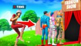 I Went UNDERCOVER in Fortnite Fashion Shows!