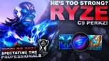 IS RYZE TOO STRONG? – Spectating the Pros: C9 Perkz | League of Legends