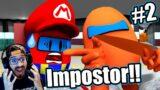 Mario Encuentra al Impostor de Among Us | Sonic y Mario Bros en Among Us Capitulo 2 | Video Reaccion