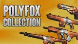POLYFOX COLLECTION SHOWCASE  (ALL POLYFOX SKINS) – VALORANT BATTLEPASS SKINS