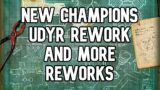 Roadmap: New Champions, Udyr Rework And More Reworks! | League of Legends