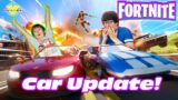 Ryan using ONLY VEHICLES in FORNITE! Let's Play Fortnite with Ryan's Daddy