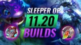 5 NEW Sleeper OP Picks & Builds Almost NOBODY USES in Patch 11.20 – League of Legends Season 11