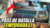 ASI SE VE EL PASE DE BATALLA DE LA TEMPORADA 11 DE APEX LEGENDS!! SPOILER!!