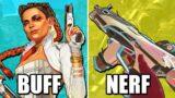 Apex Legends Season 8 Patch Notes – Legend Changes, Weapon Buffs & More!