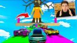 GTA V Online: CORRIDA da BATATINHA FRITA 1 2 3…. (DEU MUITO RUIM)