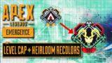 Heirloom Attachments, Recolors, and Level Cap Increase!!! Apex Legends Season 11