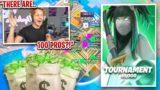 I Hosted a 100 Player Custom Tournament in Fortnite… (INSANE!)