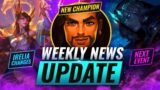 NEW CHAMP LEAK: RUINATION EVENT + AKSHAN INFO & MORE – League of Legends Season 11