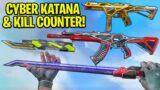 *NEW* Cyber Katana & StatTrak Skins are SO INSANE! // RGX 11Z PRO