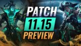 NEW PATCH PREVIEW: Upcoming Changes List For Patch 11.15 – League of Legends