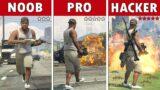 NOOB vs PRO vs HACKER en GTA 5 (#2)