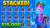 Rating A Subscribers $20,000 OG Fortnite Account! (STACKED)