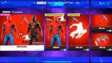 SPIDERMAN in Fortnite item shop!