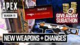 Season 11 Weapon, Care Package, Cross Progression (Apex Legends)
