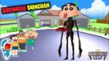 Shinchan Became Siren Head in Dude Theft Wars || Sasti Gta V