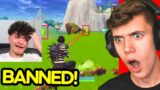 Streamers Being BANNED Live on Fortnite! (UNEXPECTED)