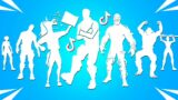 Top 50 Legendary Fortnite Dances With Best Music! (Rushin' Around TikTok, Venom Unleashed, The Look)